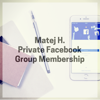Private Facebook Group Membership (basic monthly membership)