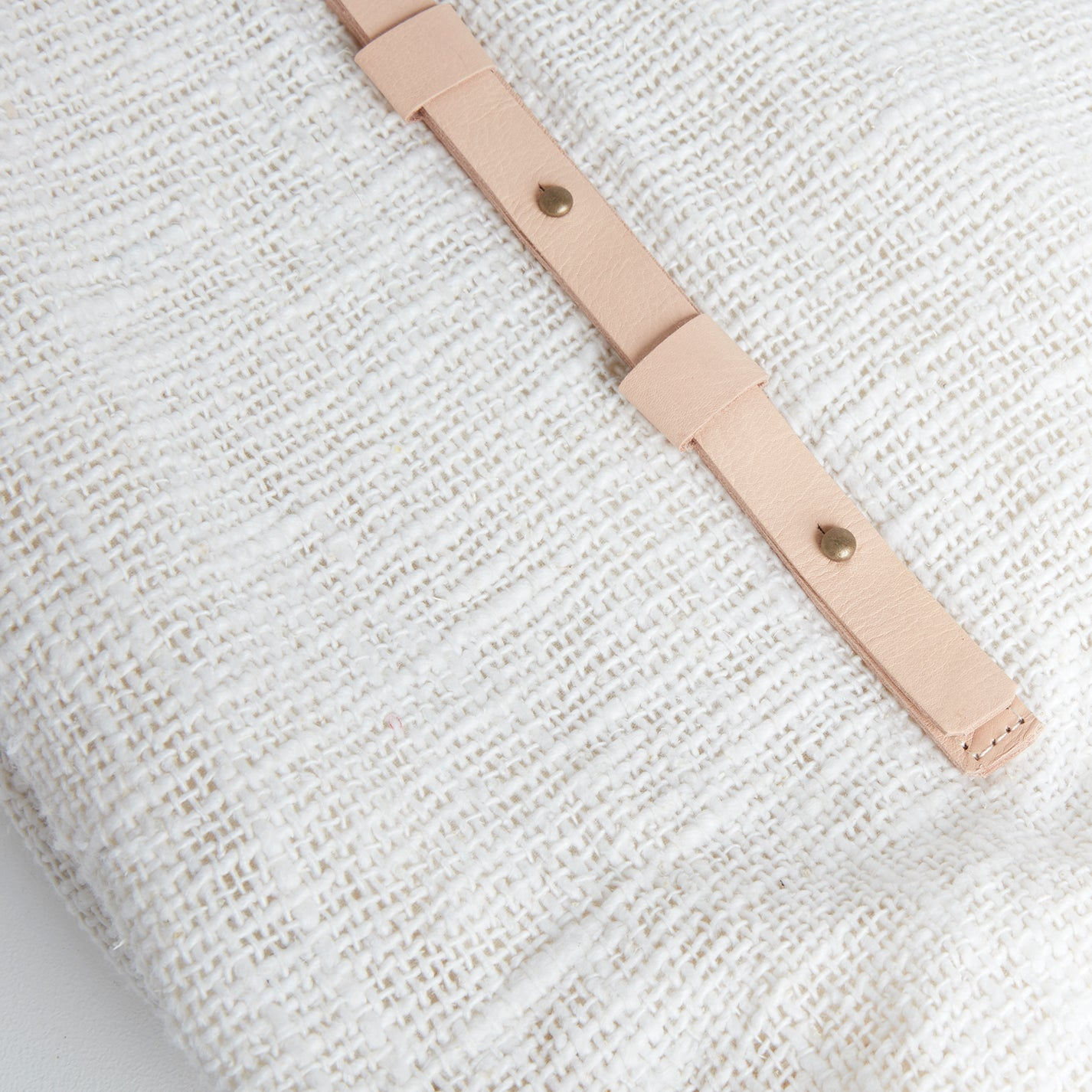 Corsica Linen Style Bag, Detail | Betsy & Floss