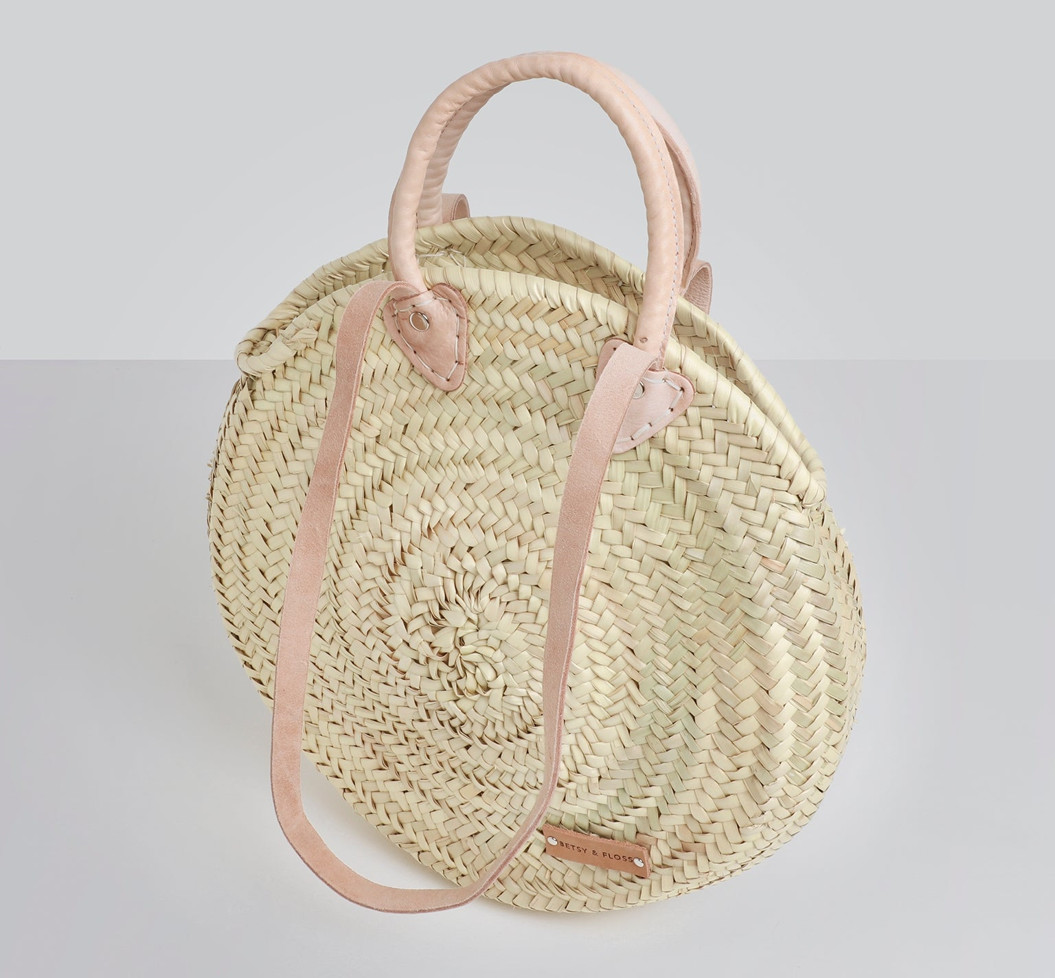 Mykynos Medium Basket Bag | Betsy & Floss