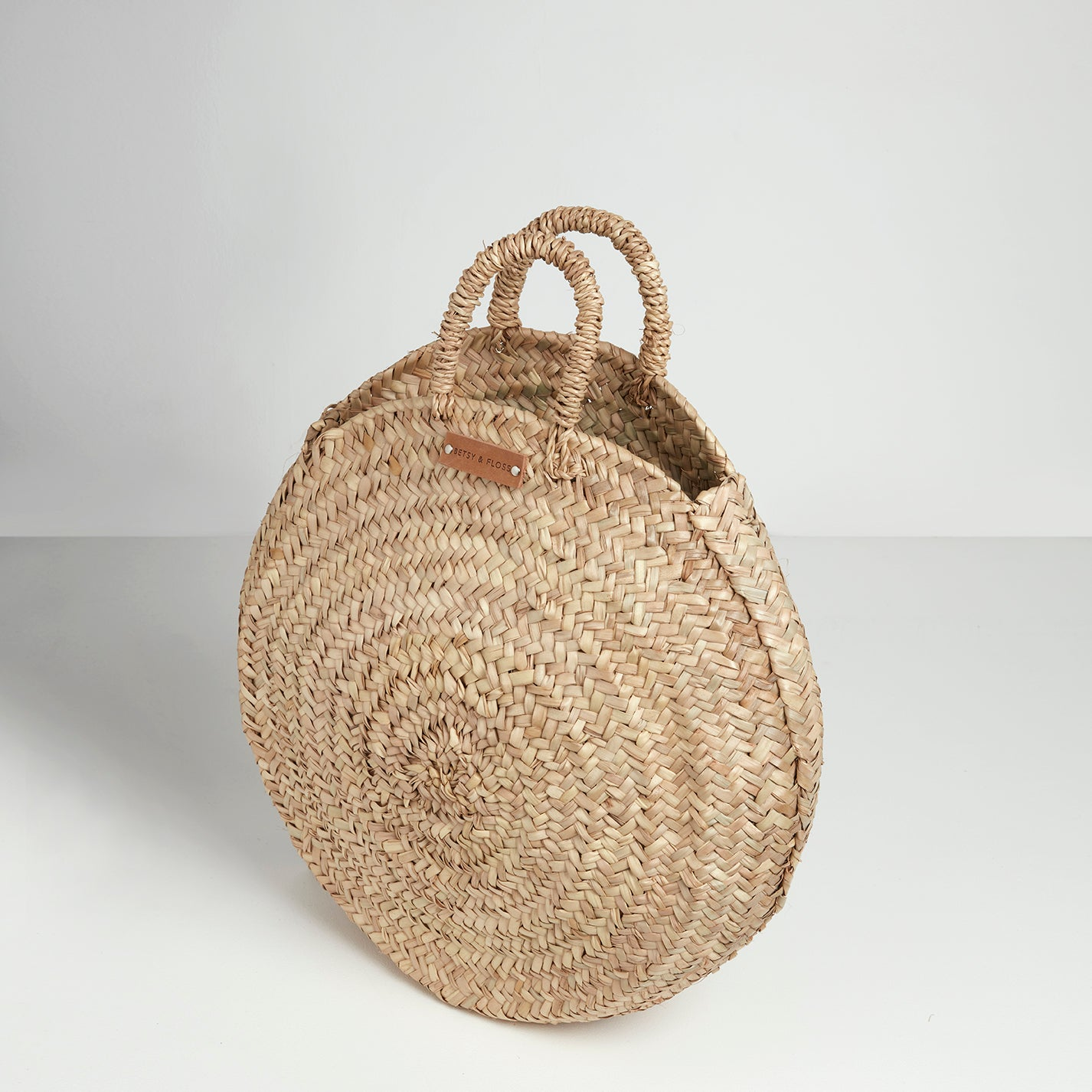 Carpi Round Basket Bag