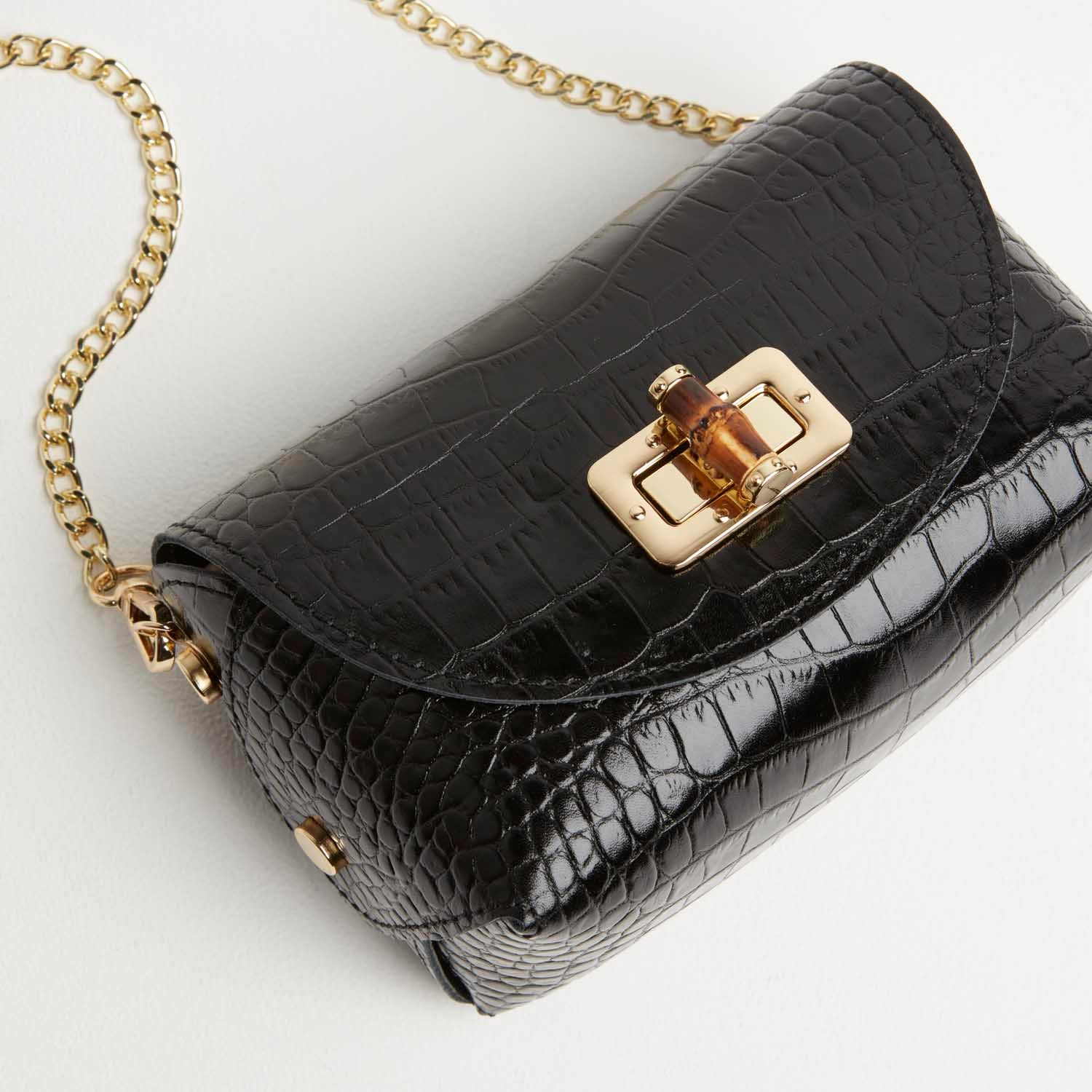 Mini Luna Clutch Bag with Chain Strap