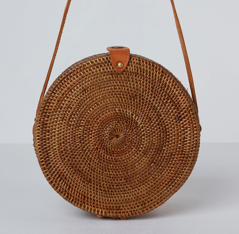Palermo Round Basket Bag | Betsy & Floss