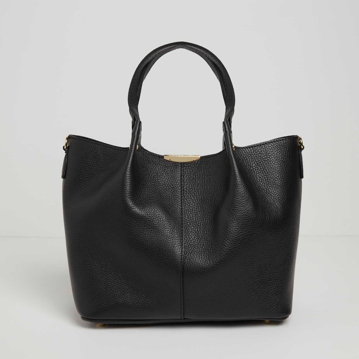 Nola Leather Shoulder Bag