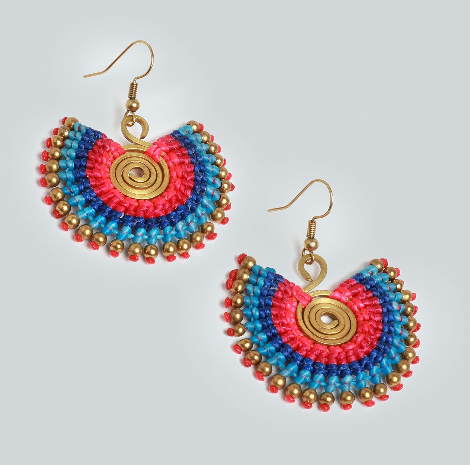 Statement Earrings in Brights
