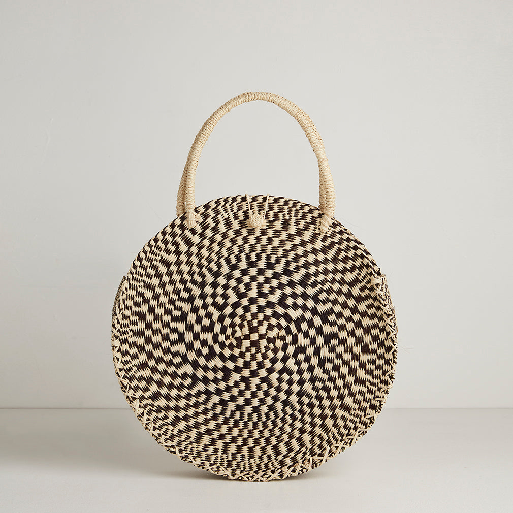 Antibes Circular Basket Bag | Betsy & Floss