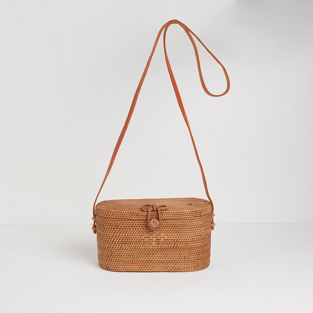 Cayman Basket Bag | Betsy & Floss