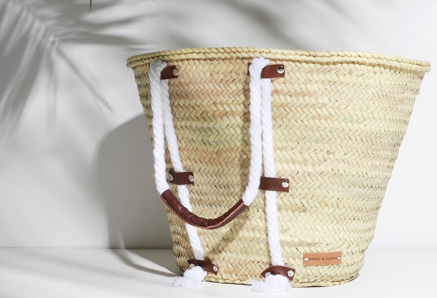 Santa Cruz Basket Bag | Betsy & Floss
