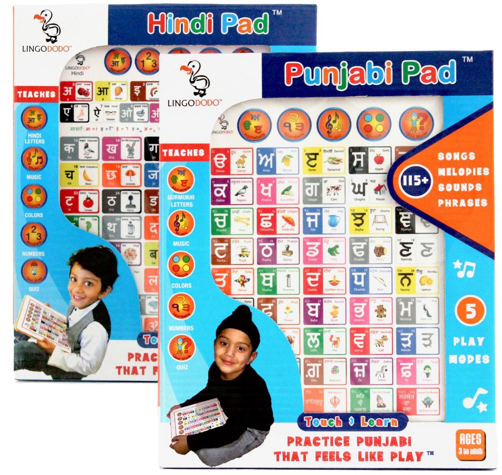 Combo pack Hindi-Punjabi