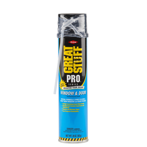 Great Stuff Pro  Window & Door  Yellow  Polyurethane Foam  Insulating Sealant  20 oz.