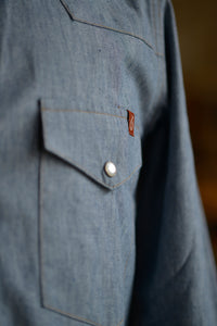 Patton Shirt - Indigo Chambray