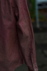 Patton Shirt - Red Chambray