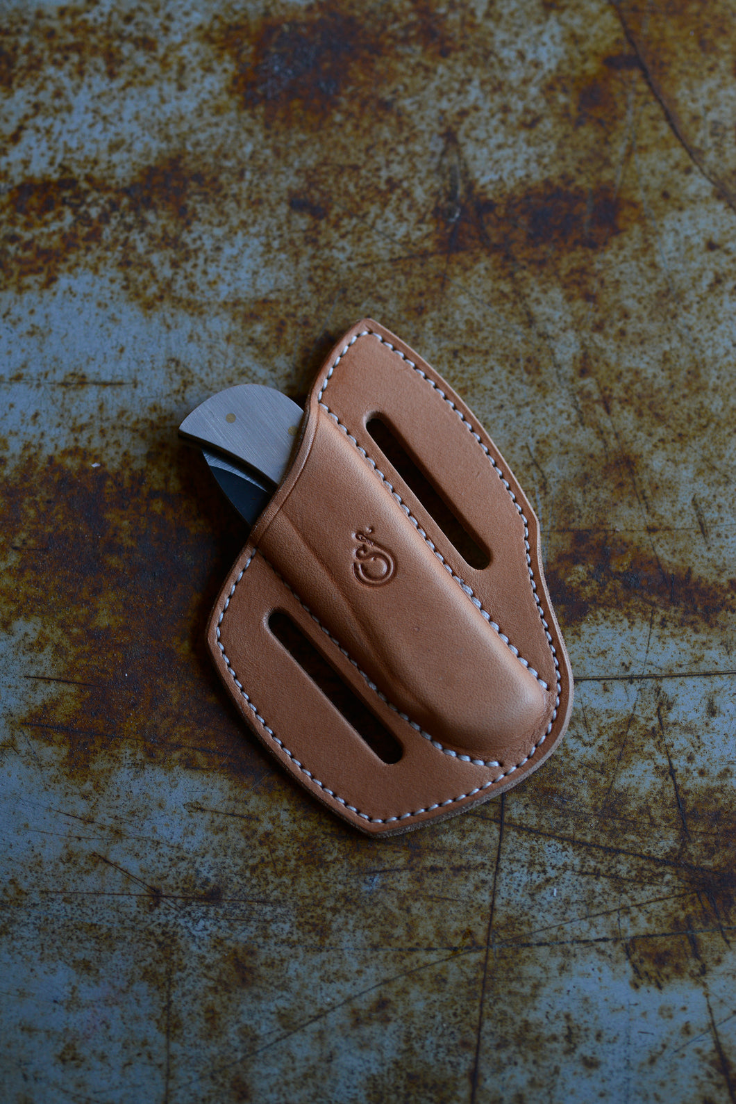 Erling Knives x Ship John Folder / Cross Draw Sheath - Aluminum