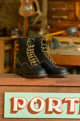 Wesco x Ship John Black Canyon Boots *Deposit*