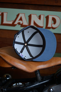 Trucker Hat - Blue Corduroy