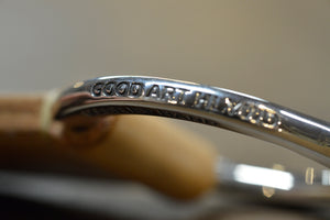 Good Art x Ship John Bull Ring Belt - Silver
