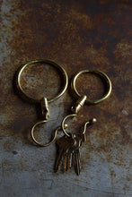 Jail Cell Keyring - Solid Brass