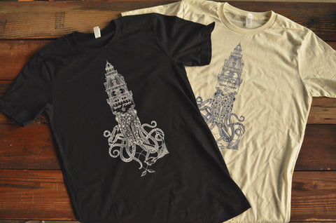 Kyler Martz x Ship John Squid Tee
