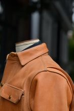 Langlitz x Ship John Veg Tan Leather Wills Jacket *Deposit*