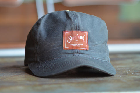 Waxed Canvas Hat