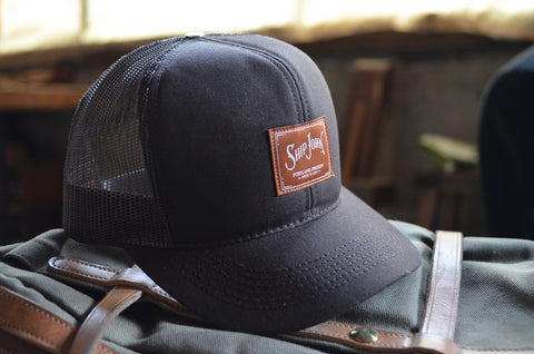 Ship John brown mesh trucker hat