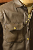 Langlitz Leathers x Ship John Black Leather Wills Jacket *Deposit*