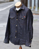 Townes Western Shirt - 11oz Selvedge Denim