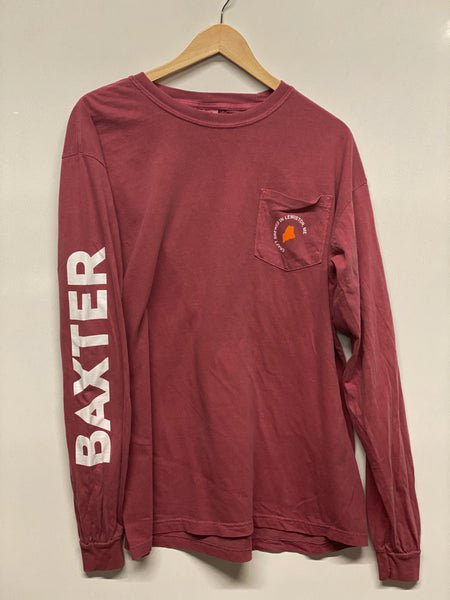 Long Sleeve T - Brick Red