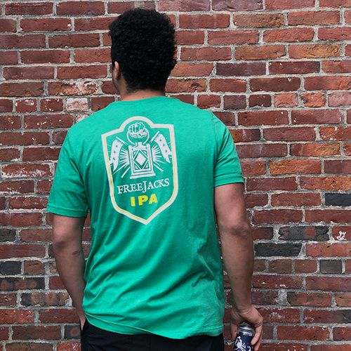 Free Jacks T-shirt, Green