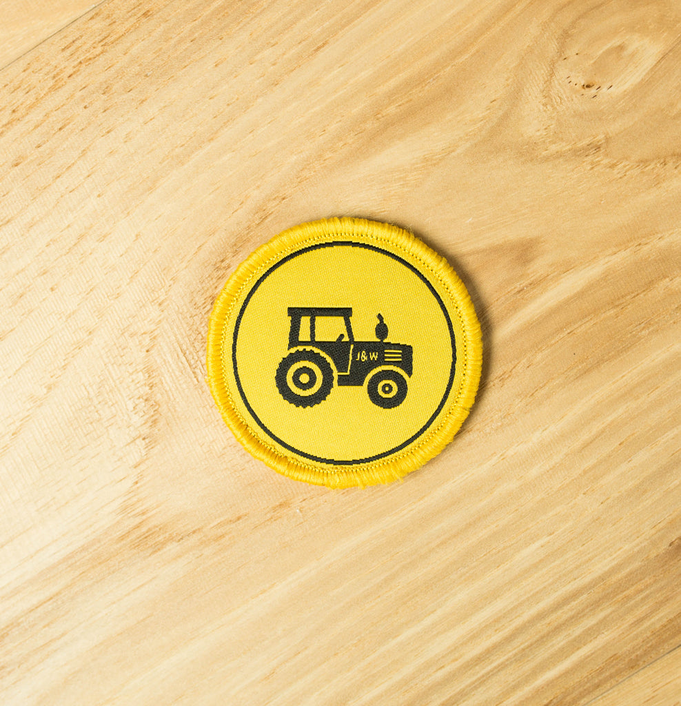 Tractor Velcro Patch