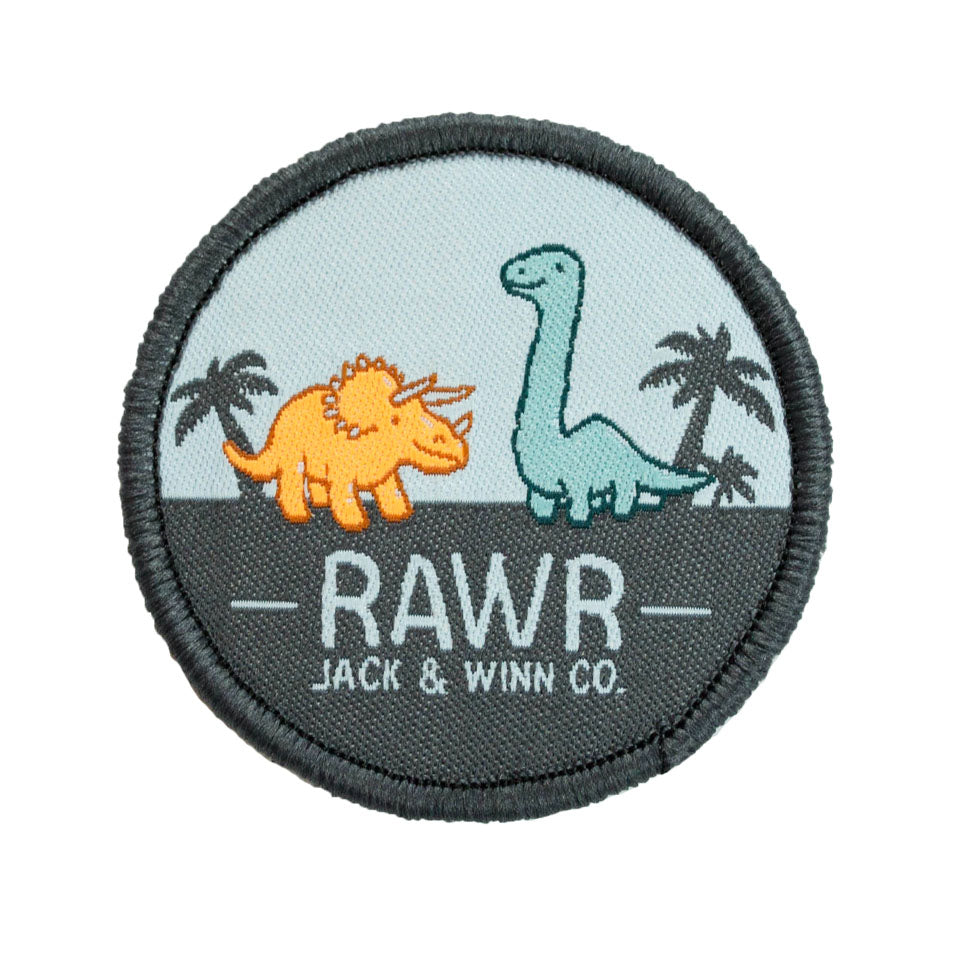 Dino Velcro Patch