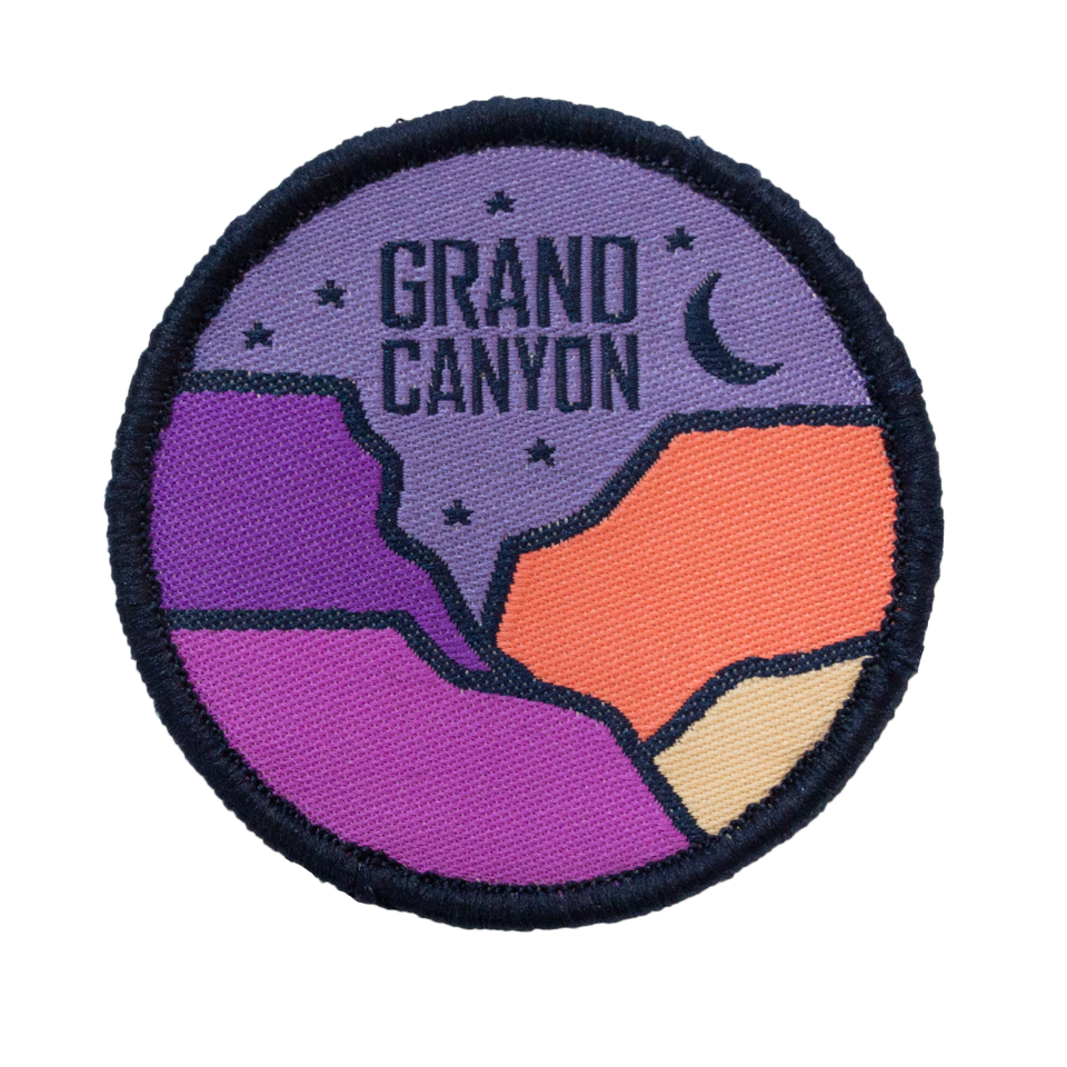 Grand Canyon Velcro Patch
