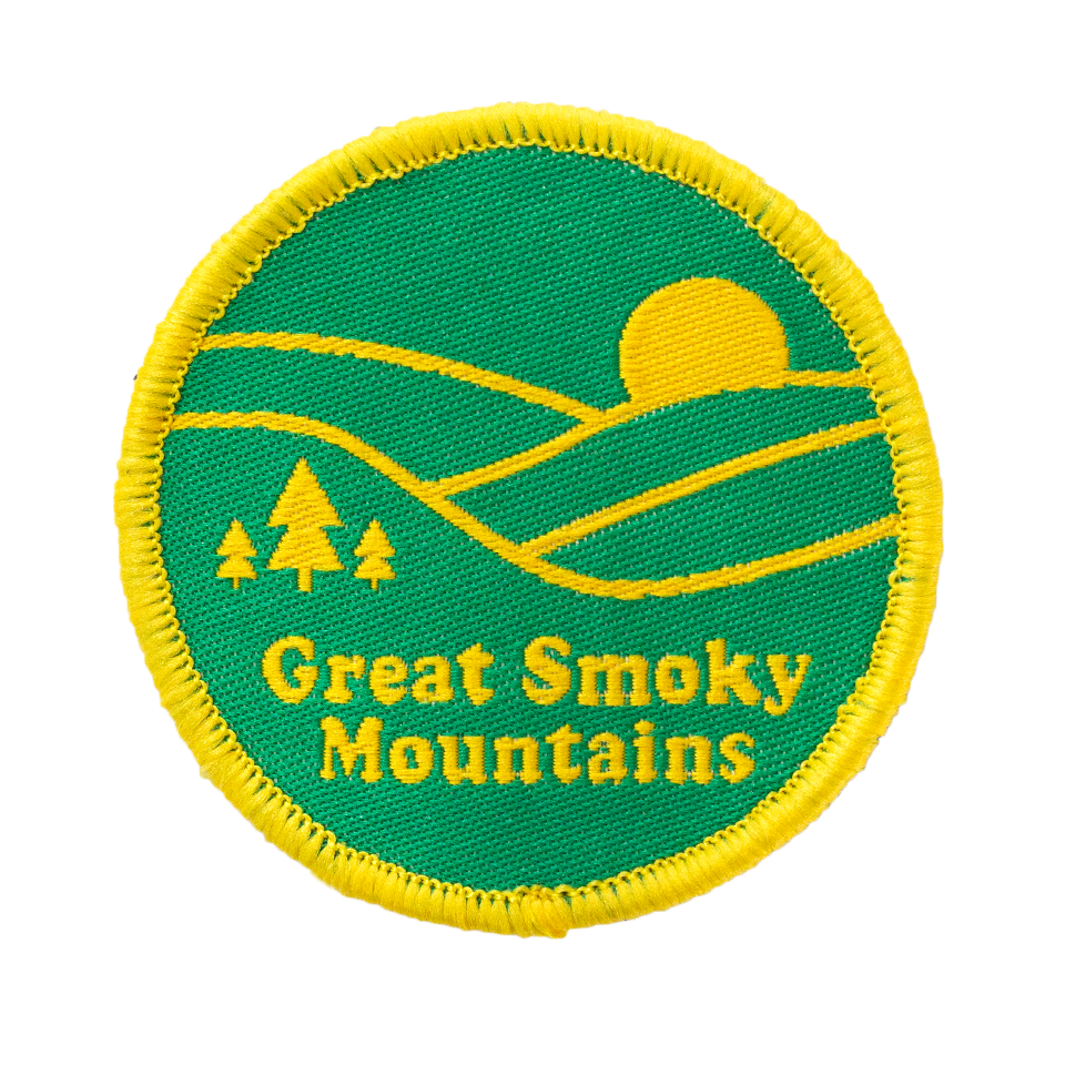 Great Smoky Mountains Velcro Patch