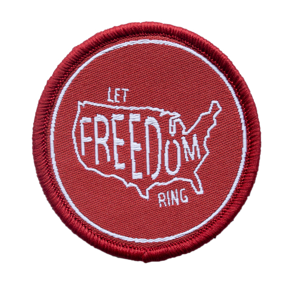 Freedom Velcro Patch