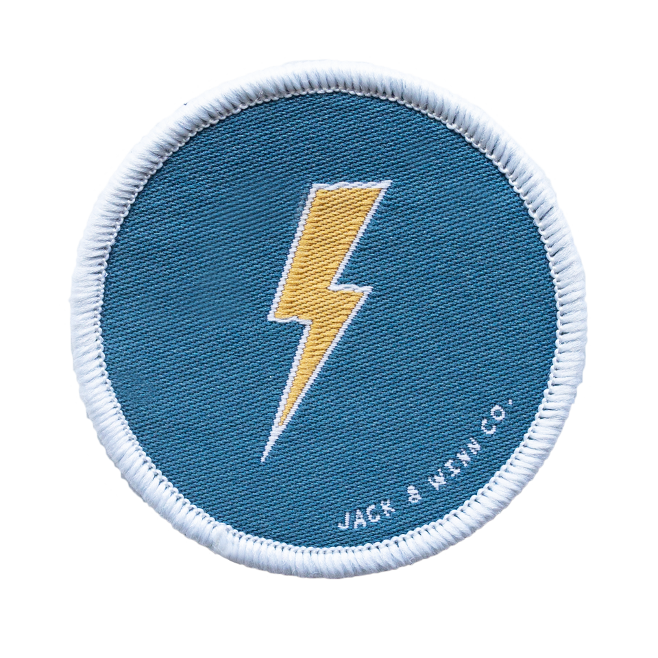 Fast as Lightning Velcro Patch