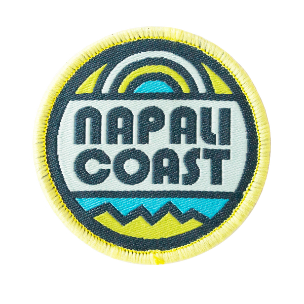 Napali Coast Velcro Patch