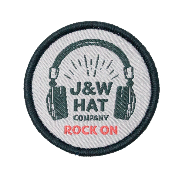 "JW ""Rock On"" Velcro Patch"