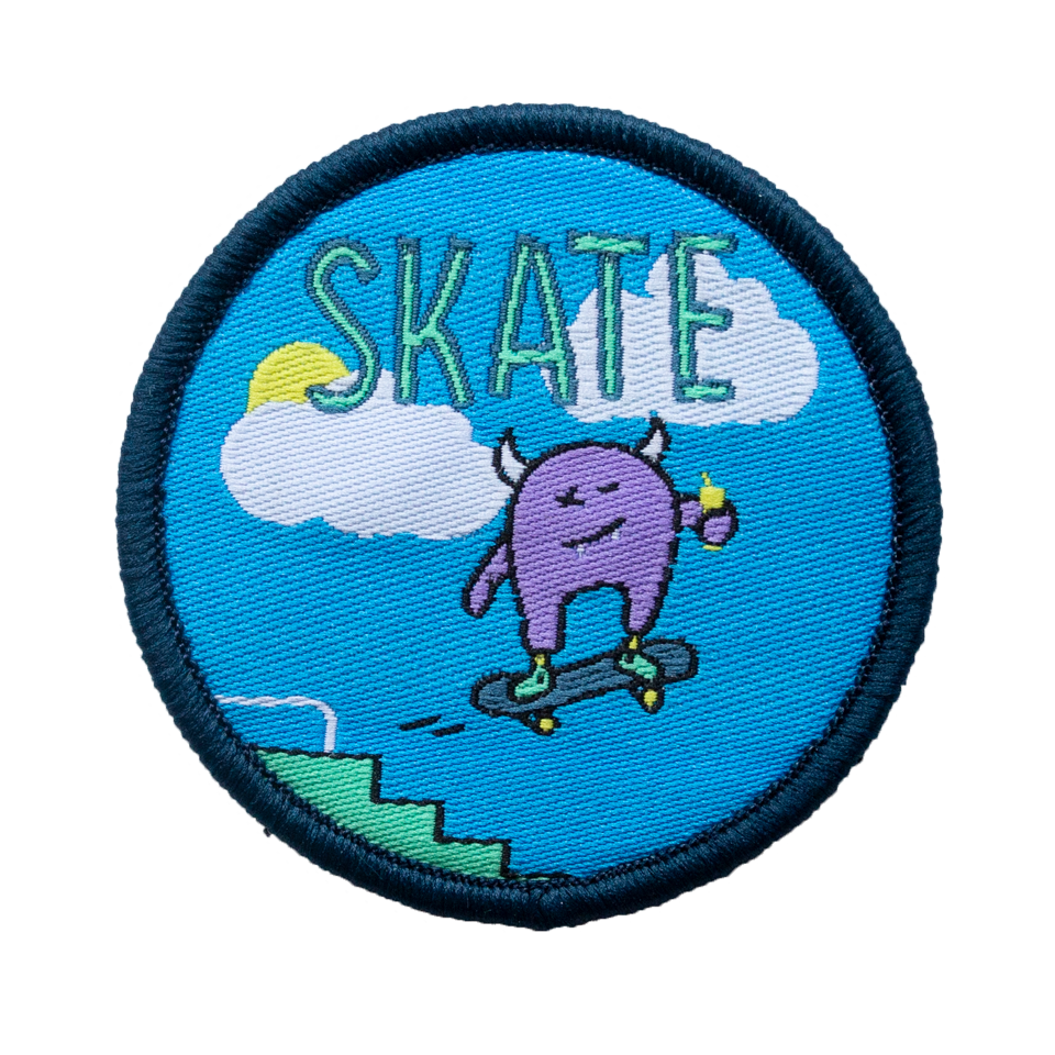 Skate Velcro Patch