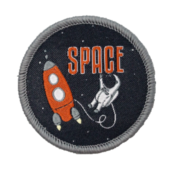 Space Velcro Patch