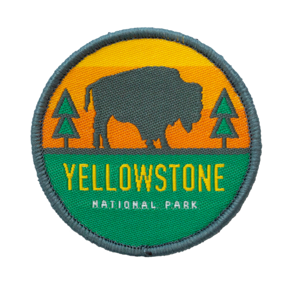 Yellowstone Velcro Patch