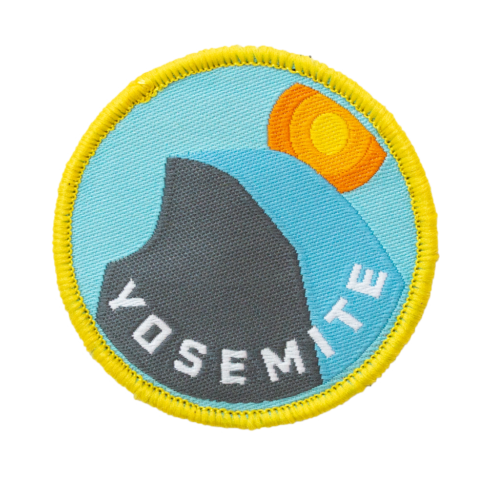 Yosemite Velcro Patch