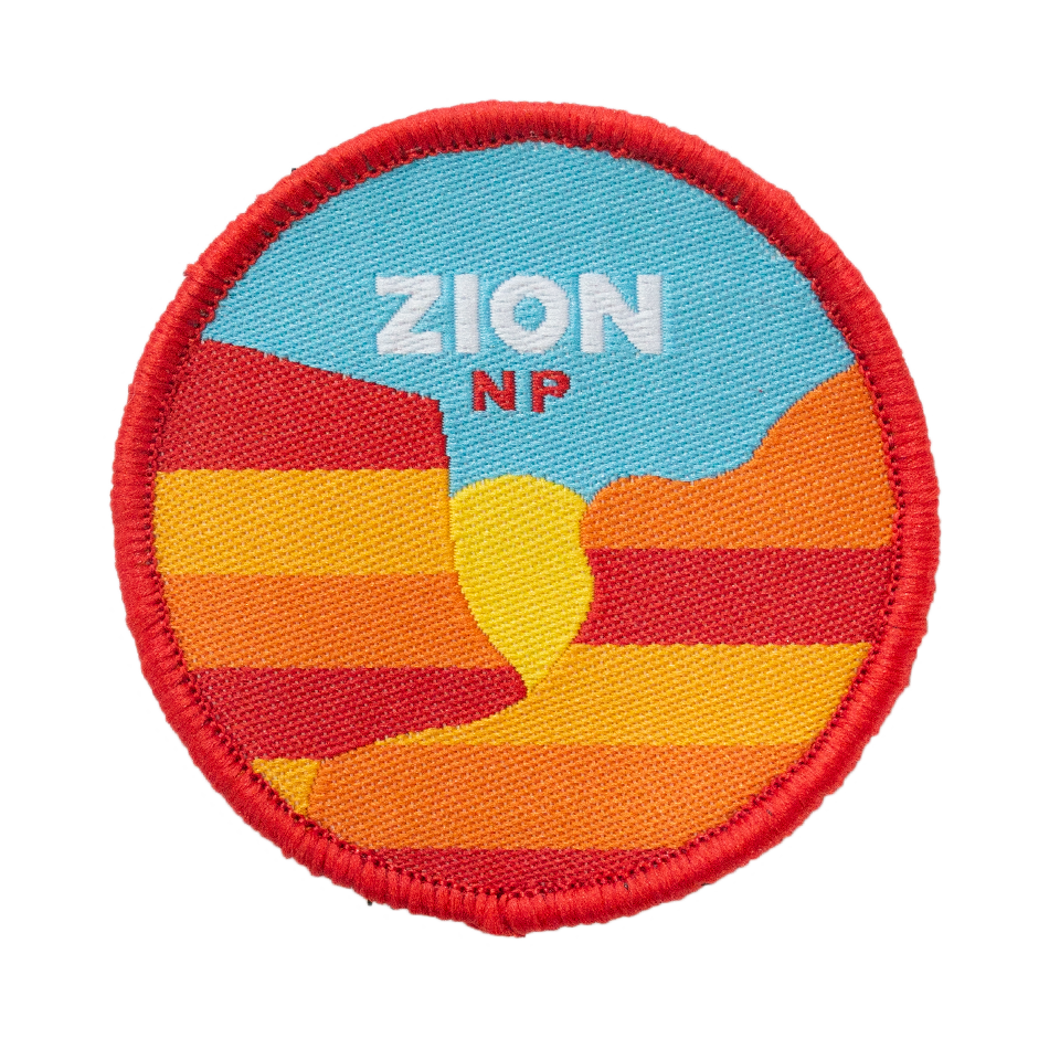 Zion Velcro Patch