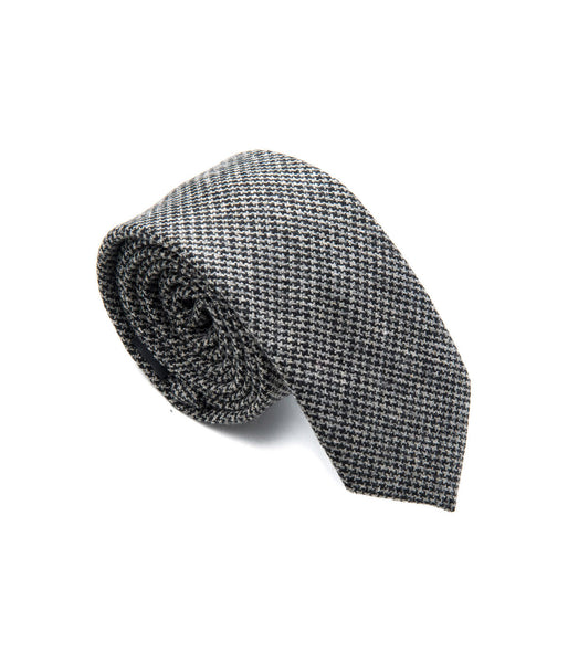 Better Fellow, The Barlow Dark Grey Steel Pattern Wool