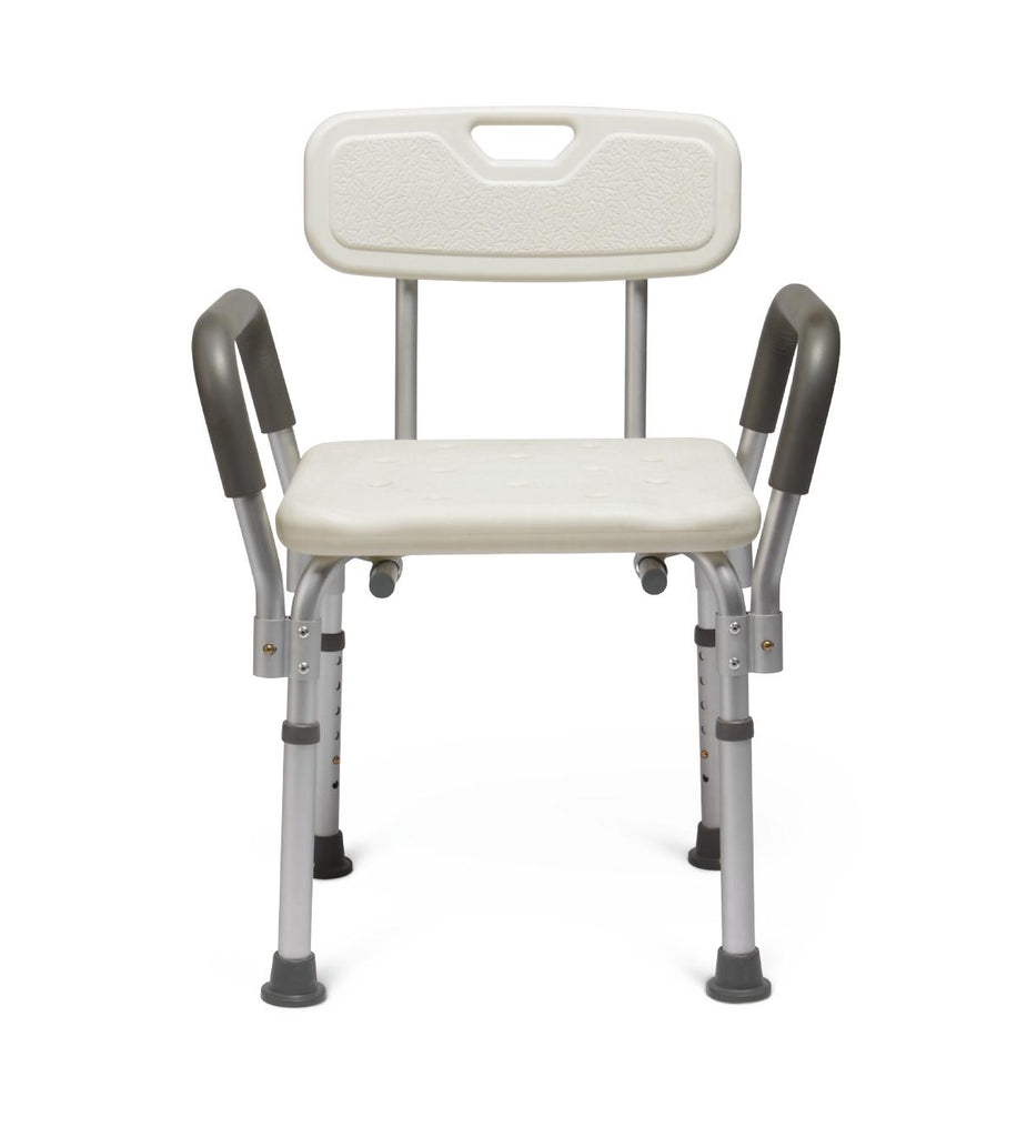 Knockdown Bath Bench with Arms (case of 2 or each)