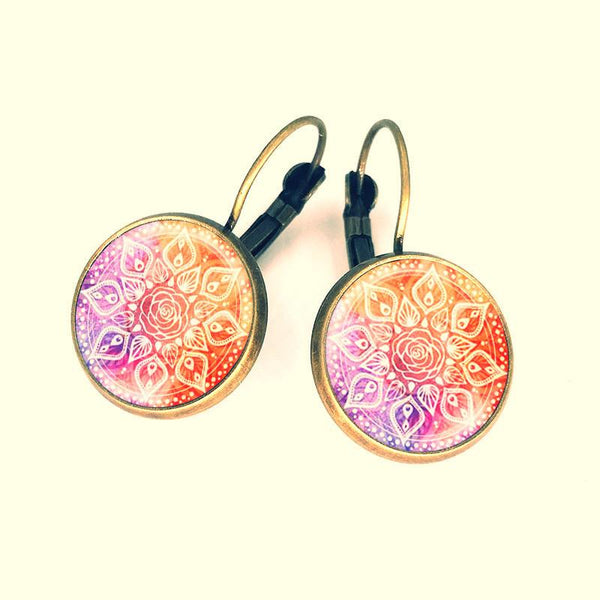 Earrings ~ ॐ