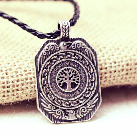 1pcs Vikings Amulet pendant ~ The Daily Tree of Life-Sunetra