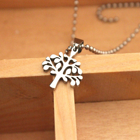 Stainless Steel Classic Design ~Tree Of Life Necklace Jewelry-Sunetra