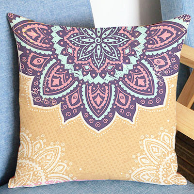 Bohemia Mandala Throw Pillow Covers