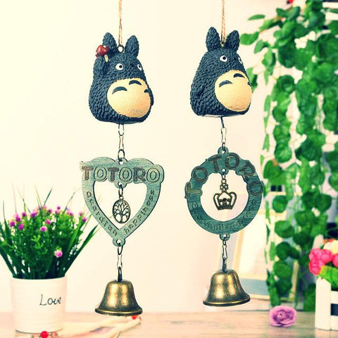Creative Gift Cartoon Totoro Wind Chimes ~-Sunetra