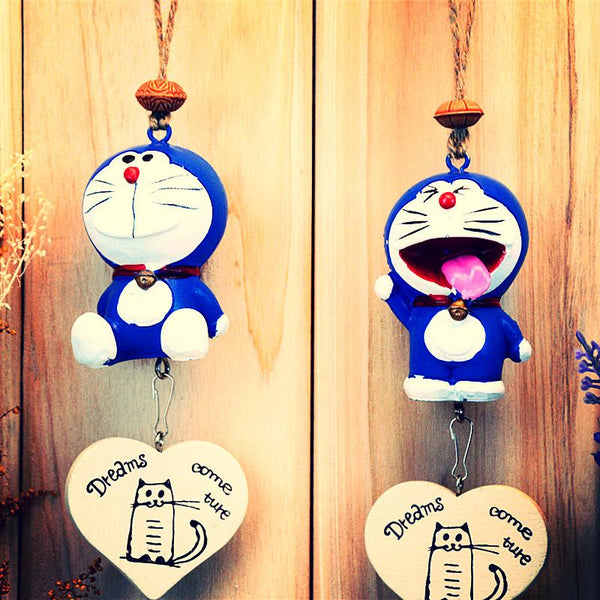 Creative Home Jingle Cat Wind Chimes Pendant ~Resin Crafts Hanging Decorations-Sunetra