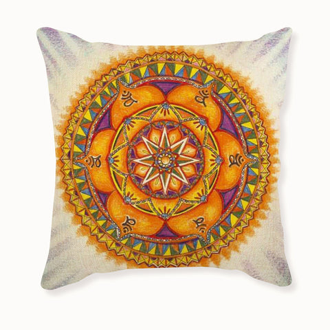 Cotton Mandala Home Pillow Case Warm Cushion